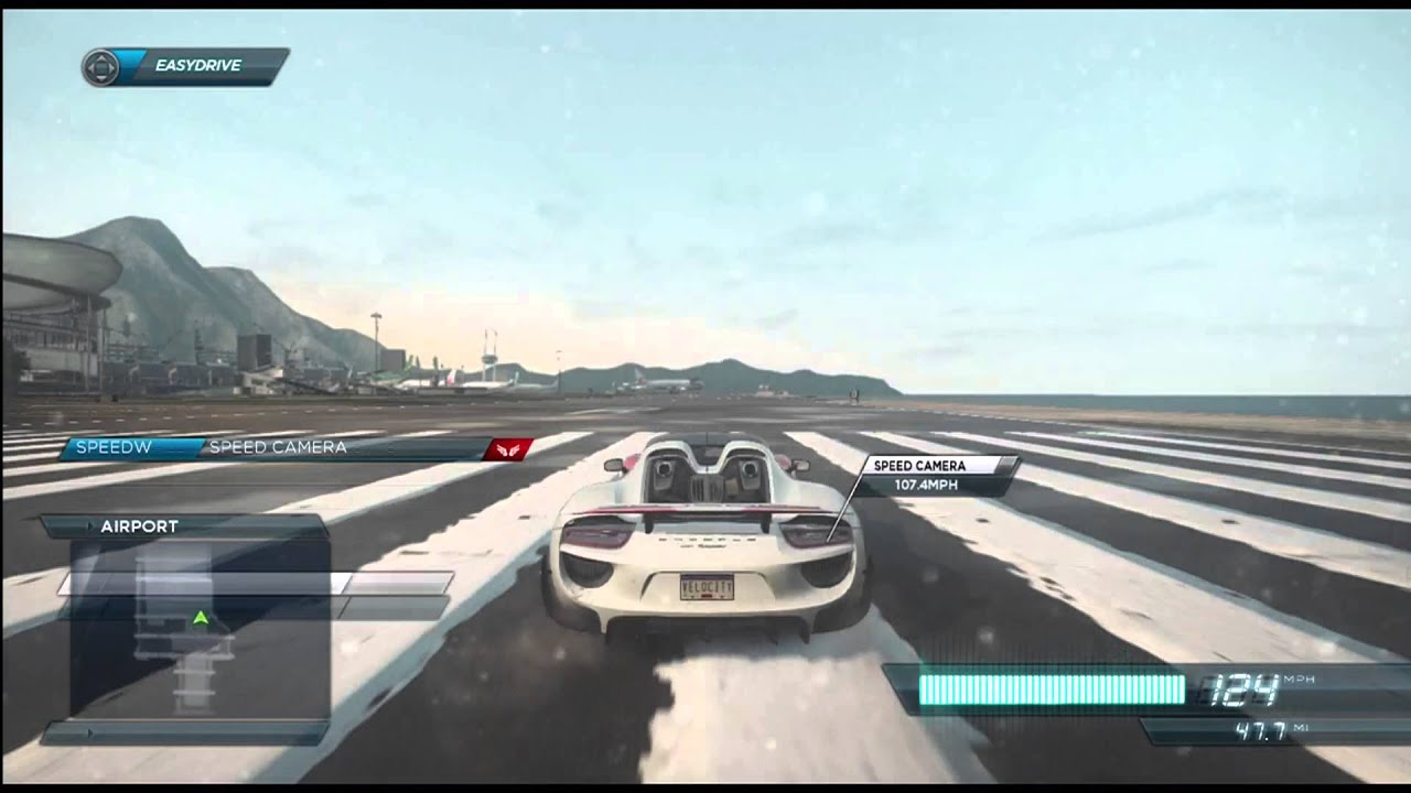 need for speed most wanted 2012 porsche 918 spyder top speed run youtube. Black Bedroom Furniture Sets. Home Design Ideas