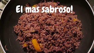 Receta cubana:Arroz Congri cubano/Moros y cristianos.How to make Congri/Platos cubanos/Comida cubana