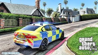 GTA 5 MODS LSPDFR 1080 - BRITISH PATROL!!! (GTA 5 REAL LIFE PC MOD)