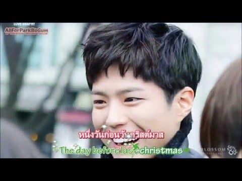 [ ThaiSub+Karaoke] December 24 - Park Bo Gum (d.ear Cover)