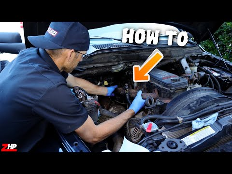 How to remove & replace exhaust manifold bolts/gaskets on 6.7 Dodge Cummins
