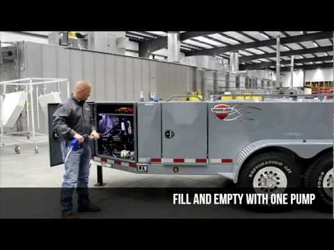Thunder Creek 750SS Fuel and Service Trailer