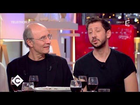 Philippe Geluck et Monsieur Poulpe au dîner - C à Vous - 08/12/2017
