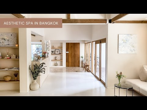 Aesthetic Spa in Bangkok   White Wood Green Spa & Wellness   Relaxing Day With Me