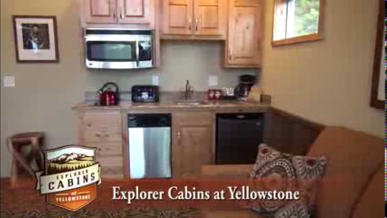 Explorer cabins at yellowstone video tour youtube for Cabina explorer west yellowstone