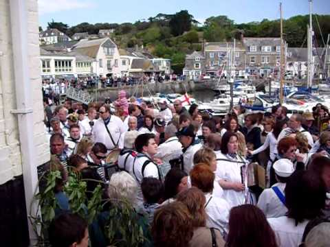 Obby Oss Day, Padstow, Cornwall