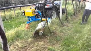 Lampacrescia 2 macchine agricole for Bcs 602 con piatto taglia trincia erba