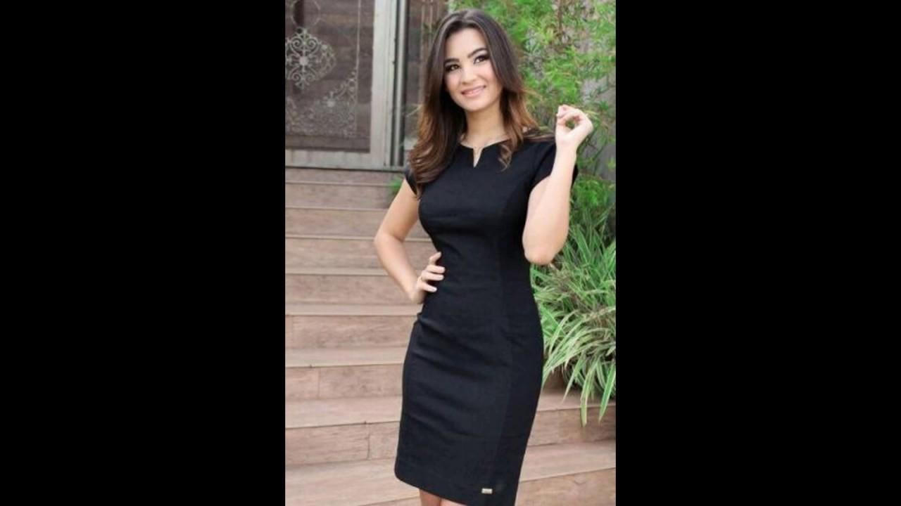 c505332d3 Modelos de Vestidos Tubinho Social Curto Para Usar e Arrasar! - YouTube