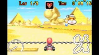 Mario Kart Super Circuit - Shortcuts