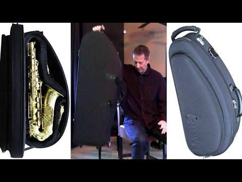 Cannonball Compact Case - lightweight alto, tenor, and baritone saxophone case