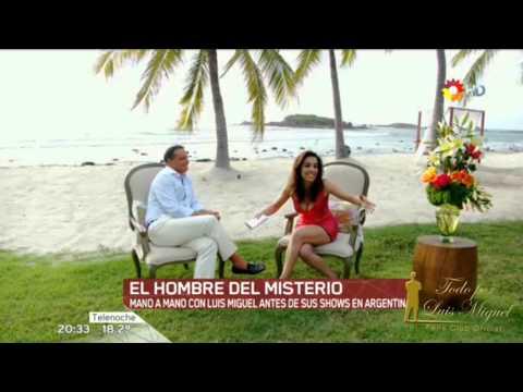 Entrevista a Luis Miguel para  TN   Noviembre  2015