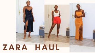 NEW IN ZARA | TRY ON HAUL | SUMMER TRY ON HAUL