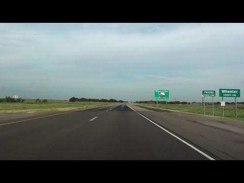 WELCOME TO TEXAS (I-40) & AMARILLO, TX, USA