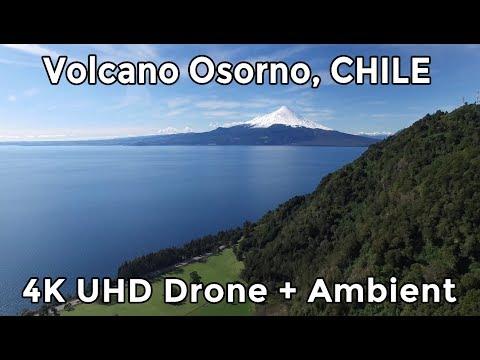 Chile - OSORNO + LLANQUIHUE by DRONE - 4K