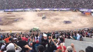 Max D monster truck awesome freestyle run - El Paso, tx