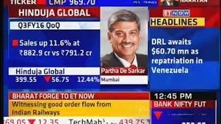 ET NOW - Interview with Partha De Sarkar, Global CEO, HGS - Q3 FY2016