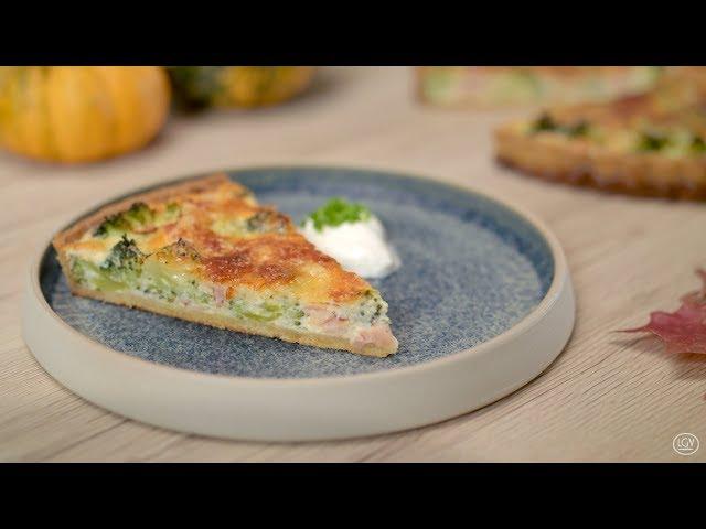 LGV Frischgemüse - Broccoli Quiche