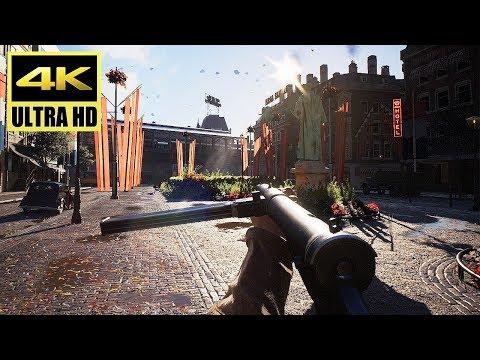 [4K] BATTLEFIELD 5 - Conquest: Rotterdam Gameplay (PS4 Pro) @ 60ᶠᵖˢ UHD ✔