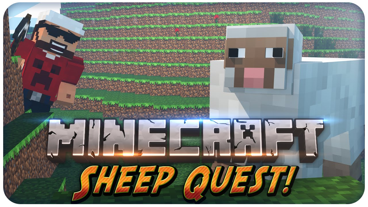 Minecraft Minigame Sheep Quest All Your Sheeples