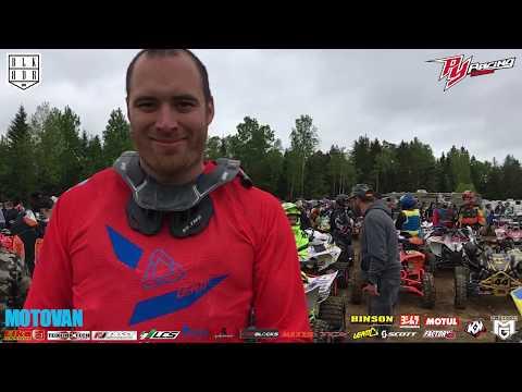 Entrevue Pierre-Yves Deneault, Rivière-Rouge Enduro-cross 2017