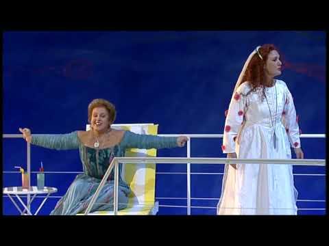 """Wagner: """"Tristan und Isolde"""". Act 1, Sc.2- Waltraud Meier, Marjana Lipovsek"""