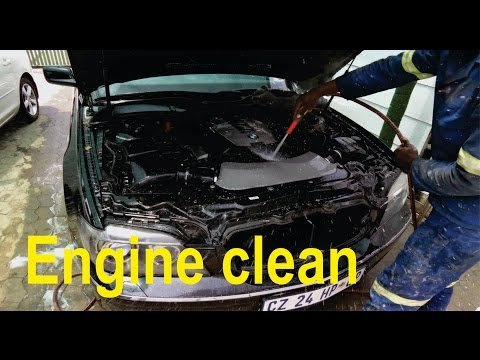 How to do an engine clean  (BMW)