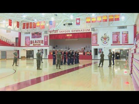 Daniel Boone High School's JROTC hosts national drill meet
