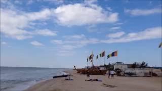Кирилловка, Азовское море, пляж базы отдыха