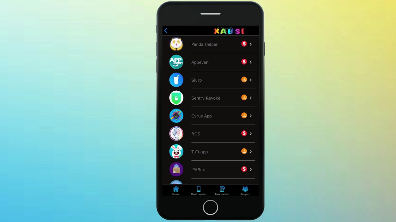 Install Xabsi free for iOS 11.3.1 ( Free access to install Anzhaung ) #1