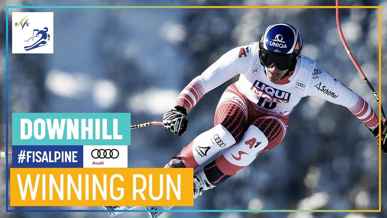 Matthias Mayer Wins Kvitfjell Downhill