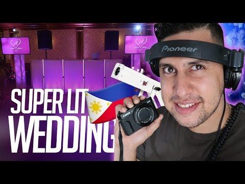DJ GIG LOG: Filipino Weddings are LIT! | Brought All My DJ Equipment