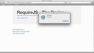 RequireJS - The Basics