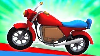 دراجة اونبوكنج | فيديو سيارة | كارتون اطفال | Bike Unboxing | Unbox Vehicles | Kids Learning Video