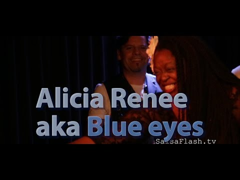 Alicia Renee' aka Blue Eyes ● I Will Always Love You ● Live in Geneva