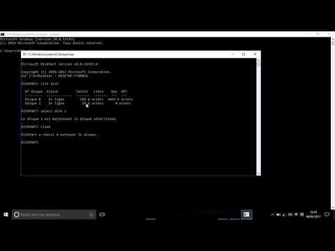 formater-(-disque-dur-,-usb-...-)-avec-l'invite-de-commande-windows-(-cmd-),-utilitaire-diskpart