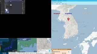 [지진관측 진도0] 충남 공주시 남동쪽 17km 지역서…