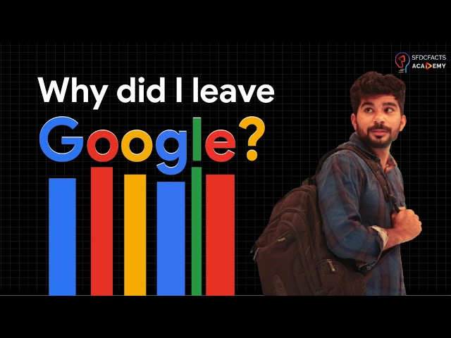 Why Did I Leave My Software Engineer Job at GOOGLE? 🔥🔥🔥 IT WASN'T THE MONEY