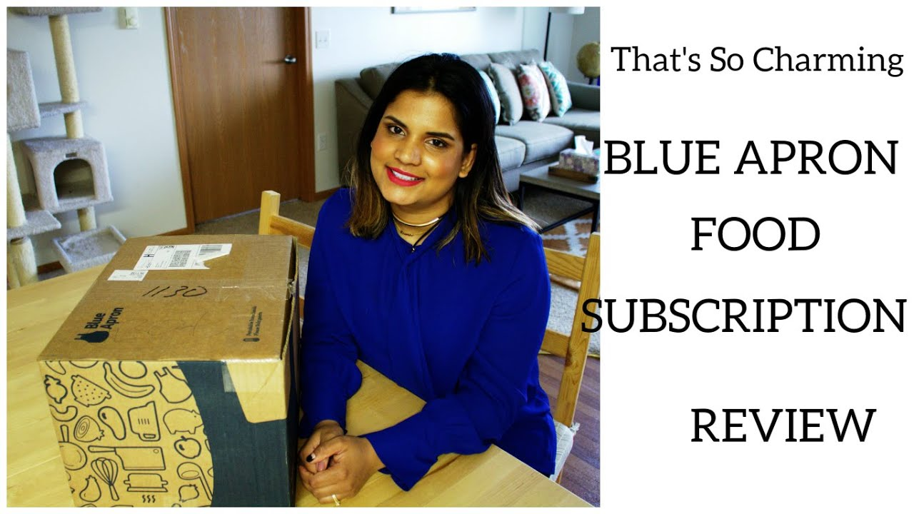 Blue apron youtube review - Blue Apron Food Subscription Review