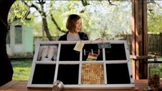 Органайзер для кухни из старого окна - Дача 3.05.2014
