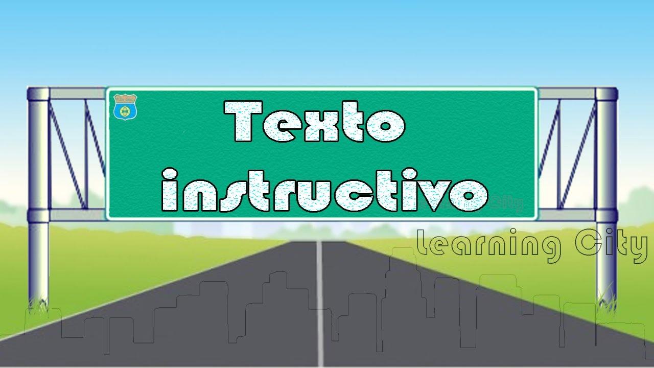 Texto Instructivo