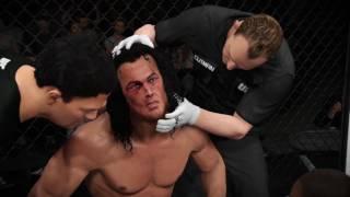 Brandon Lee vs Bruce Lee in a UFC 2 Dream Match