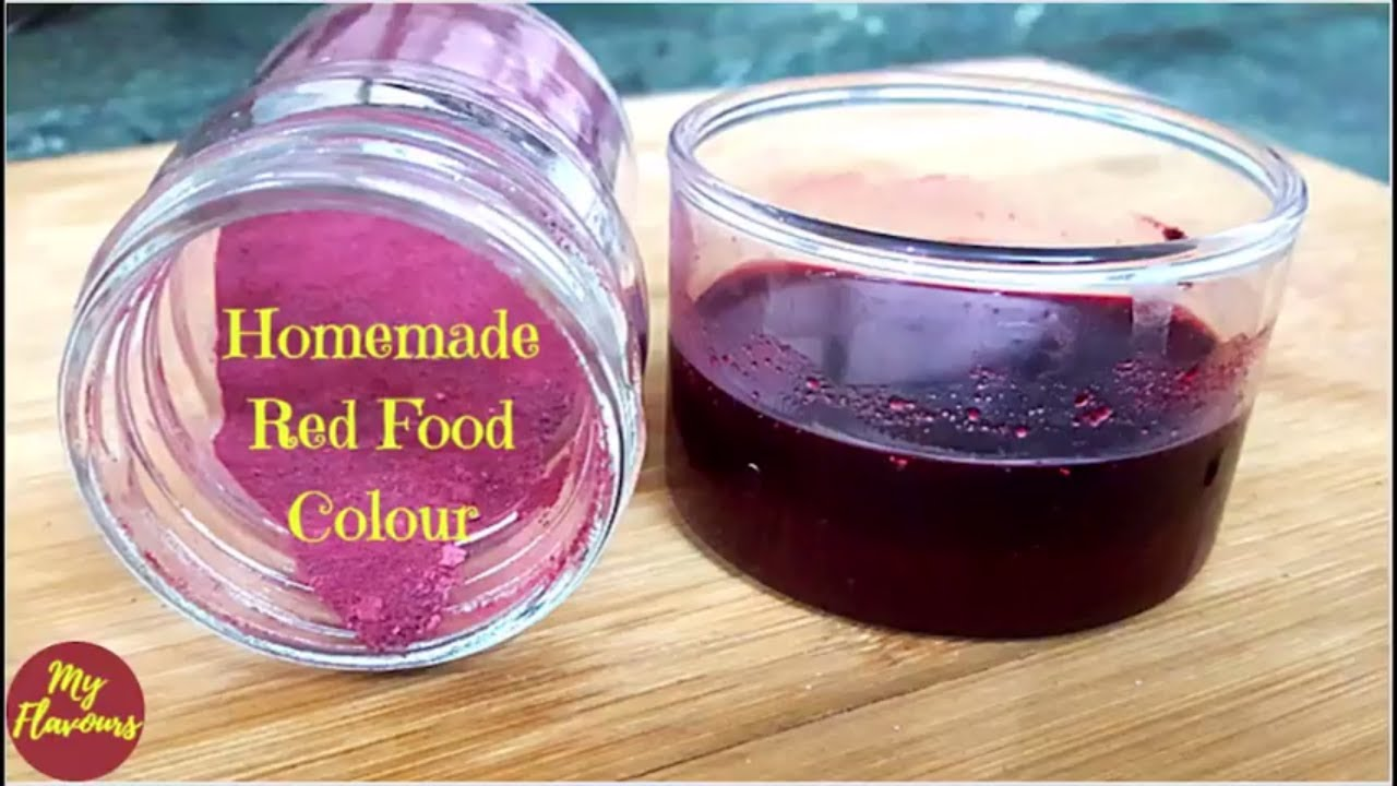 100% Natural Homemade Red Food Color | For Tandoori recipes, Tomato ...