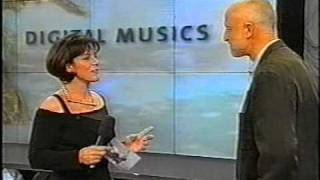 Chris Watson receiving Award Austrian TV 1998