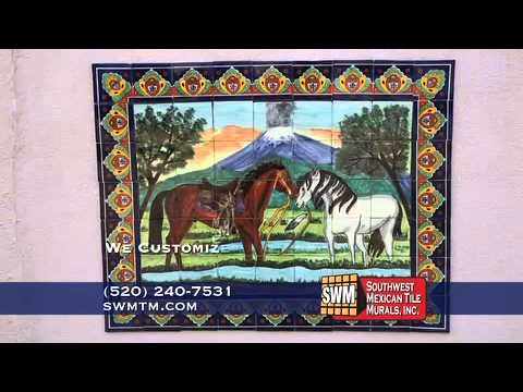 Southwest Mexican Tile Murals Inc At Www Swmtm
