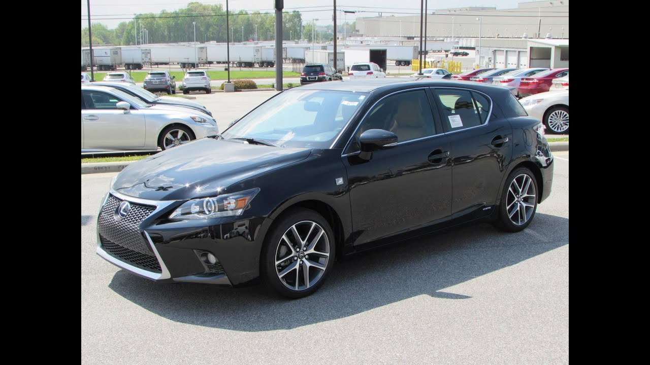 Ct200h F Sport >> 2014 Lexus CT200h F-Sport Start Up, Exhaust, and In Depth Review - YouTube