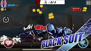 Spider man ultimate power Gameplay + Black suit Gameplay