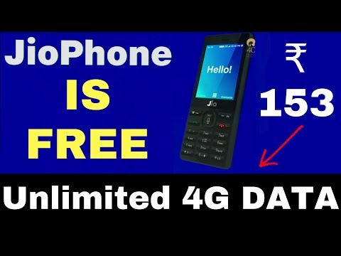 JIO 4G FEATURE PHONE FREE | LAUNCH DETAILS | ₹153 offer Hindi