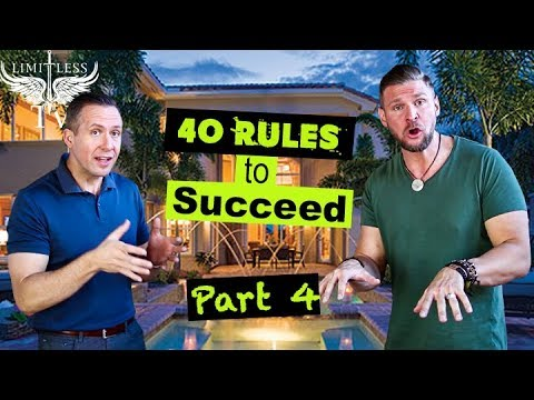 How To Succeed In Real Estate Investing [40 TIPS] - Part 4
