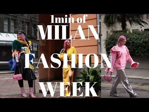 1 λεπτό μαζί μου στο Milan Fashion Week | SISSY KYRIAKOU