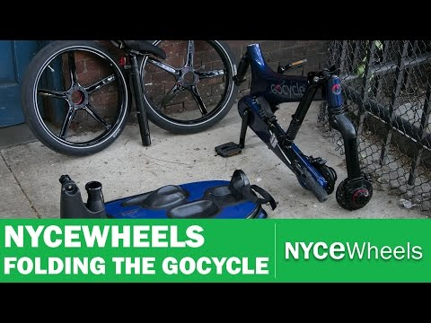 How To Fold Your GoCycle G3
